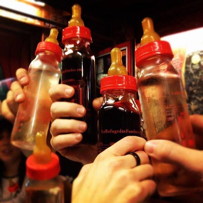 Бутылочки с вином