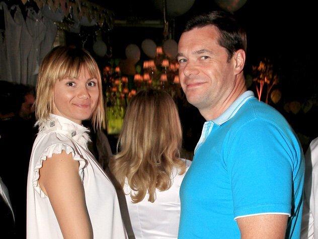 Четвертое место (состояние 20 млрд. долларов) - Алексей Мордашов (на фото со второй женой Еленой) биография, знаменитости, интересное, личная жизнь, олигархи, факты