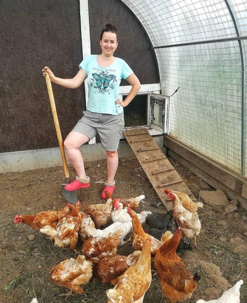 2. Работящая женщина - это красиво дача, дачницы, девушки, колхозницы, лето, фото
