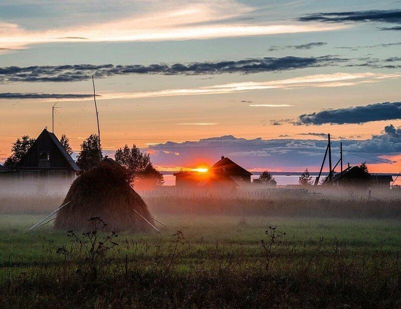 1. Там даже у воздуха был запах бабушка, глубинка, деревня, детство, русская деревня, фото