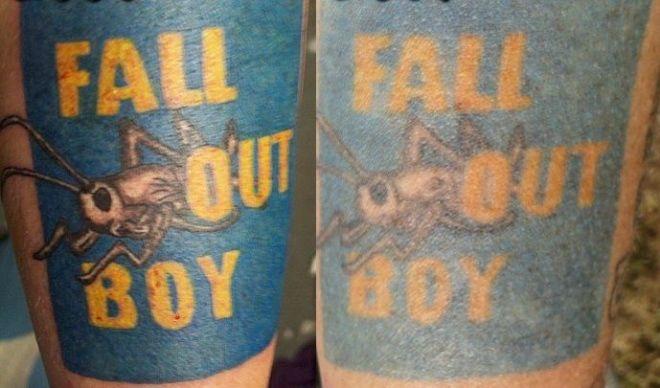 Как меняется тату через 6 лет