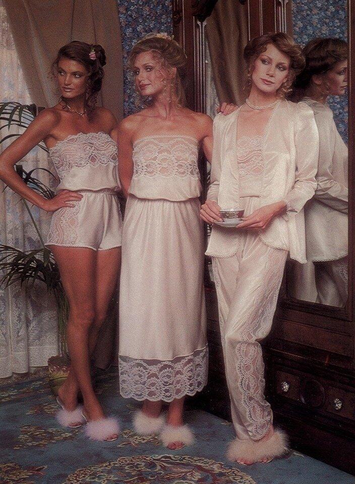 """14. Целомудренная реклама бренда нижнего белья """"Victoria's Secret"""" в 1979 году интересно, исторические фото, история, фото, фото из прошлого"""