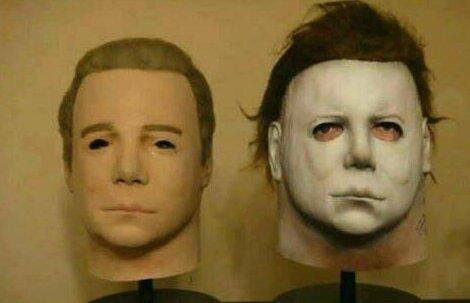 """""""Между прочим, ужасная маска из фильма """"Хэллоуин"""" - это копия лица Уильяма Шатнера, капитана Кирка из """"Звездного пути"""" Вот это ДА, интересно, любопытно, неожиданно, открытия, странные факты, удивительное рядом, факты"""