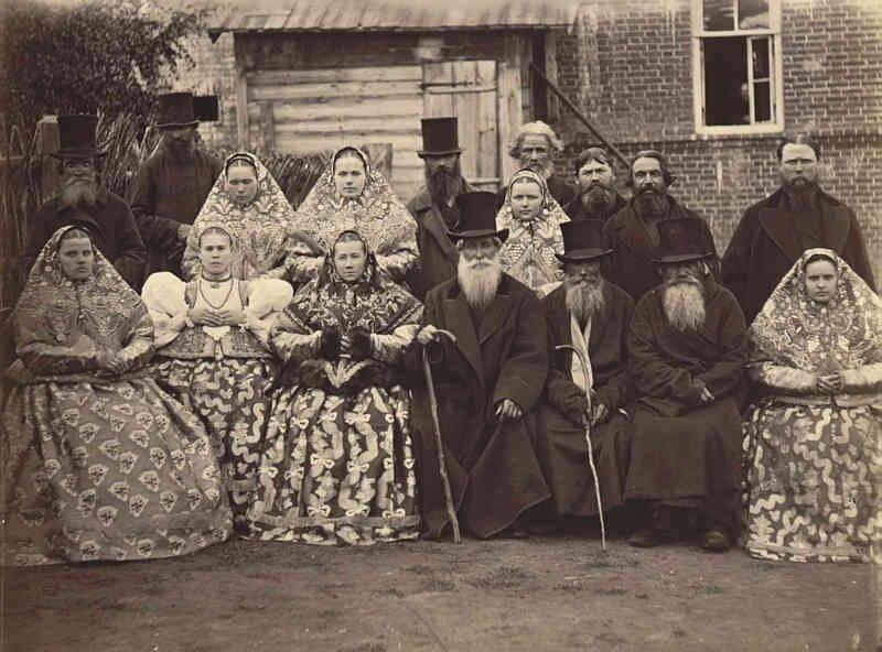11. Жители Нижегородской губернии, 1870-е интересно, исторические фото, история, фото, фото из прошлого