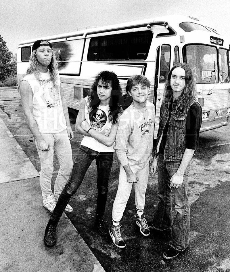 """15. Группа """"Metallica"""" в 1985 году интересно, исторические фото, история, фото, фото из прошлого"""