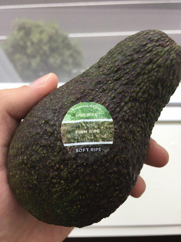Цветной маркер спелости авокадо поможет понять, созрел ли плод Стиль, дизайн, идеи, комфорт, оригинально, свежий взгляд, творческий подход, удобство
