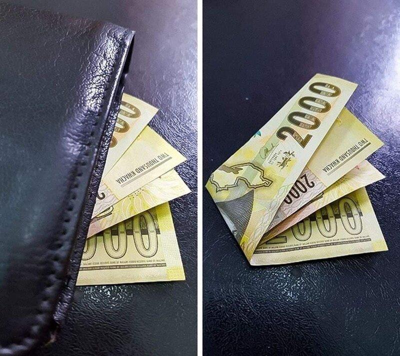 9. Если видите набитый бумажник, то и это может быть ложью прикол, ракурс, ракурс решает, смешно, фото