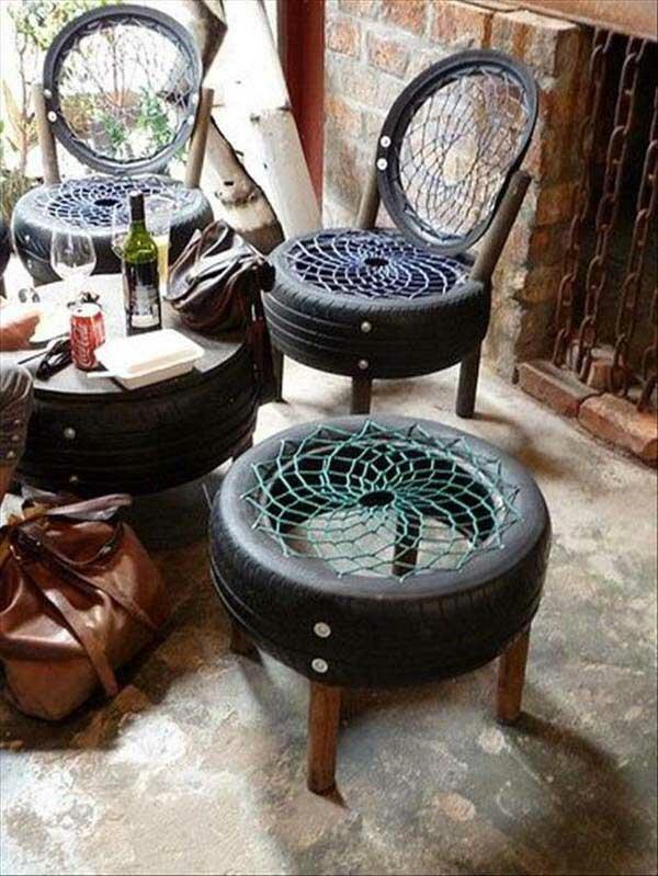 Мебель для дачи своими руками креатив, польза, старые вещи, фото, хозяйство