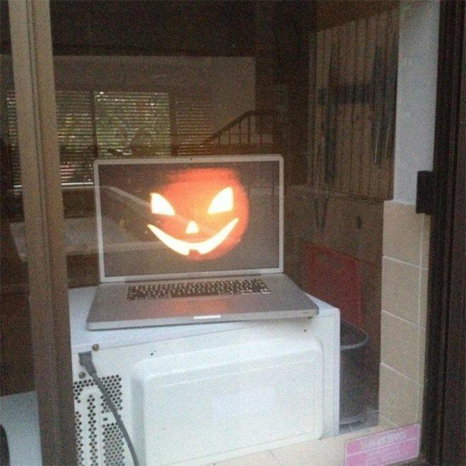 3. Экономия времени при подготовке к Хэллоуину изобретение, лень, прогресс, работа, развлечения, творчество