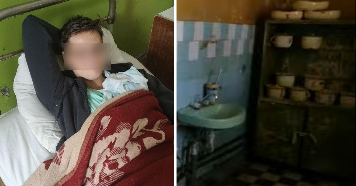 """Фото """"Африканская деревня"""". Финский подросток ужаснулся российской больнице"""