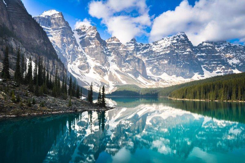 8. 60% всех озер Земли находится в Канаде белый медведь, занимательные факты, канада, клен, нло, отпуск