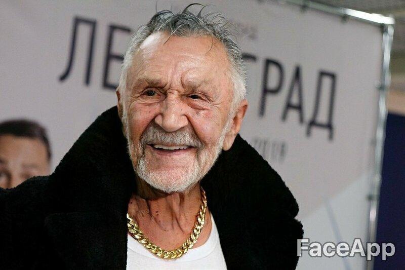 Сергей Шнуров получился задорным старичком веселушка, знаменитости, интересное, приложение, старость, старые люди, фото