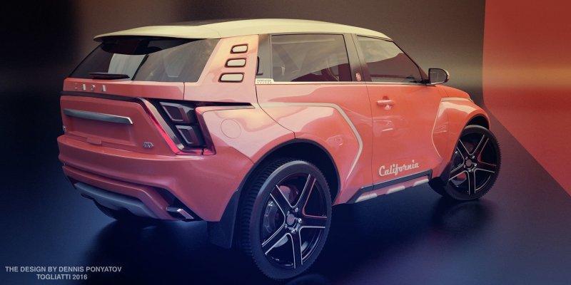 """""""Новая """"Нива"""": какой она могла бы быть автодизайн, автомобили, ваз, ваз 2121, дизайнер, концепт, нива"""