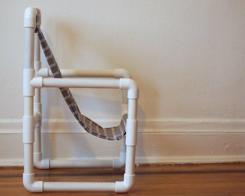 И кресло для отдыха ПВХ-изыски, изобретательность, пвх, пвх-трубы, подборка, прикол, юмор