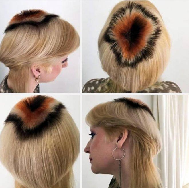 причёска называется
