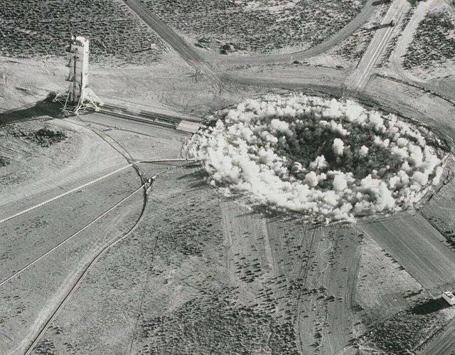 22. Правительство США взорвало подземное ядерное устройство в округе Ламар на юге Миссисипи 22 октября 1964 года жизнь, исторические фото, история, прошлое, фото