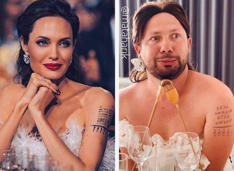 4. Анджелина Джоли