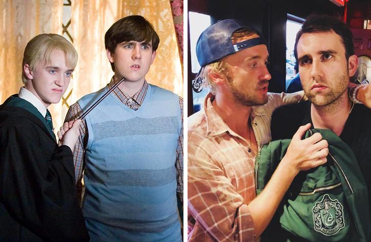 20+ актеров, которые воссоединились с напарниками спустя много лет после завершения съемок