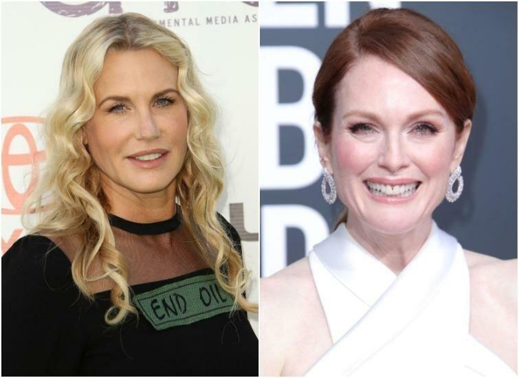 Дэрил Ханна и Джулианна Мур — 58 лет актриса, внешность, возраст, звёзды, знаменитости, пластические операции