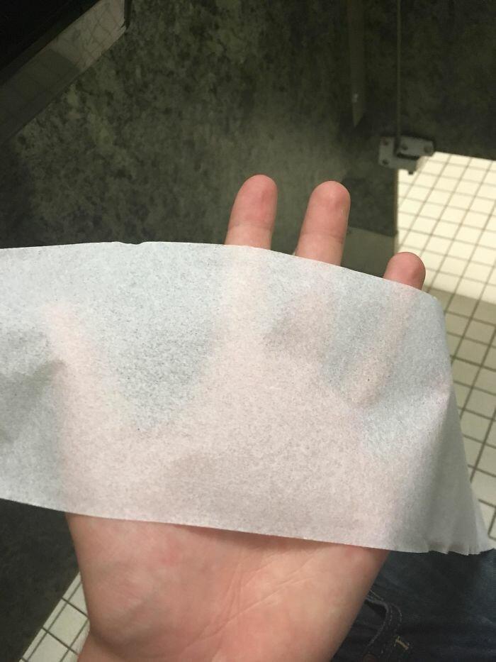 """44. """"Моя школа потратила 6 млн долларов на всяческие улучшения и нововведения, но не в состоянии купить туалетную бумагу, которая не просвечивает"""" бесит, бытовые мелочи, достало, жизненные ситуации, жизненные трудности, раздражает, раздражающие вещи, юмор"""
