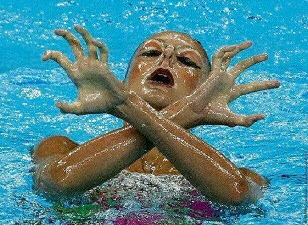 Синхронное плавание на паузе зум, плавание, подборка, прикол, синхронное плавание, стоп-кадр, юмор