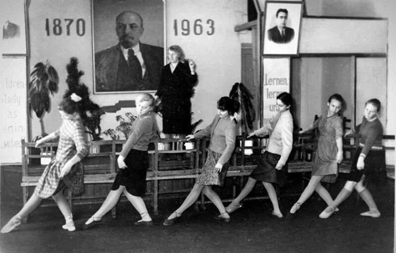 6. Урок танцев в Феодосии, 1963 год жизнь, исторические фото, история, прошлое, фото