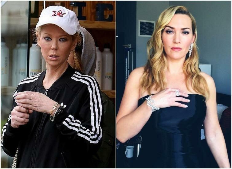 Тара Рид и Кейт Уинслет — 43 года актриса, внешность, возраст, звёзды, знаменитости, пластические операции