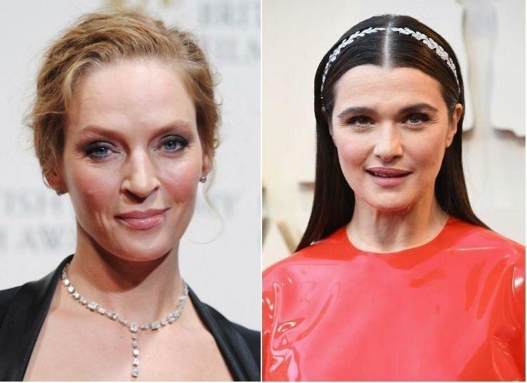 Ума Турман и Рэйчел Вайс — 48 лет актриса, внешность, возраст, звёзды, знаменитости, пластические операции