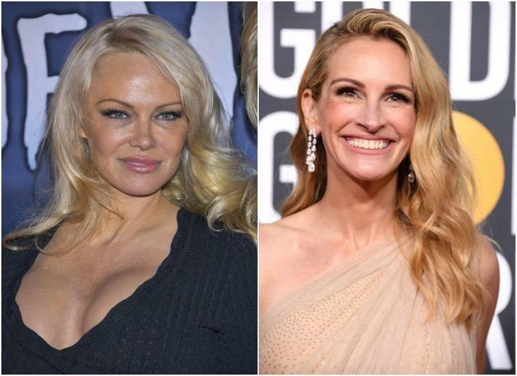Памела Андерсон и Джулия Робертс — 51 год актриса, внешность, возраст, звёзды, знаменитости, пластические операции
