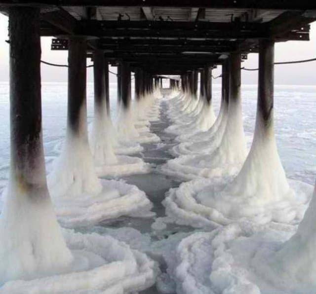 Море во льду