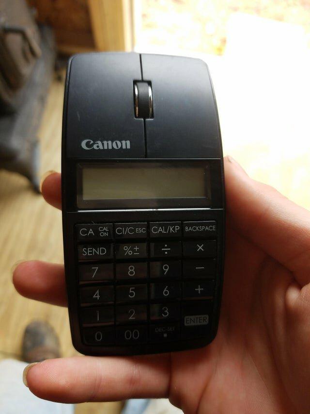 Мышка и калькулятор