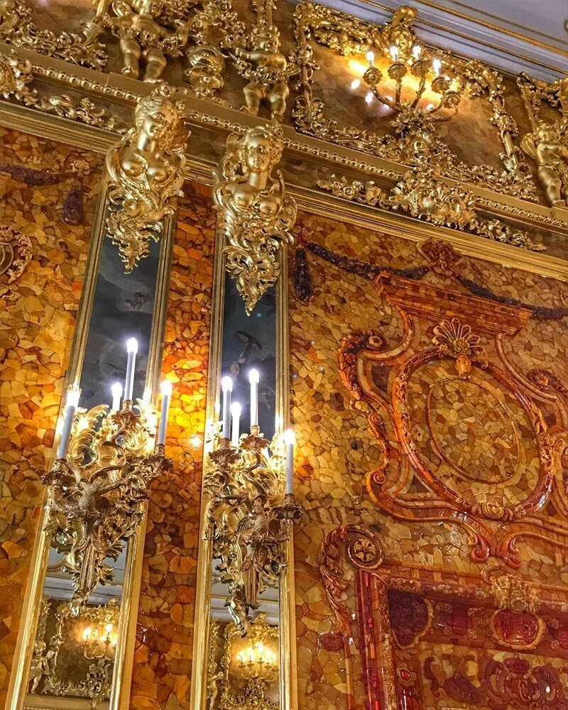 2. Янтарная комната Екатерининского дворца