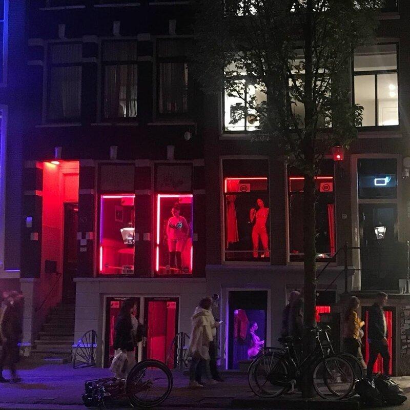 3. Квартал красных фонарей