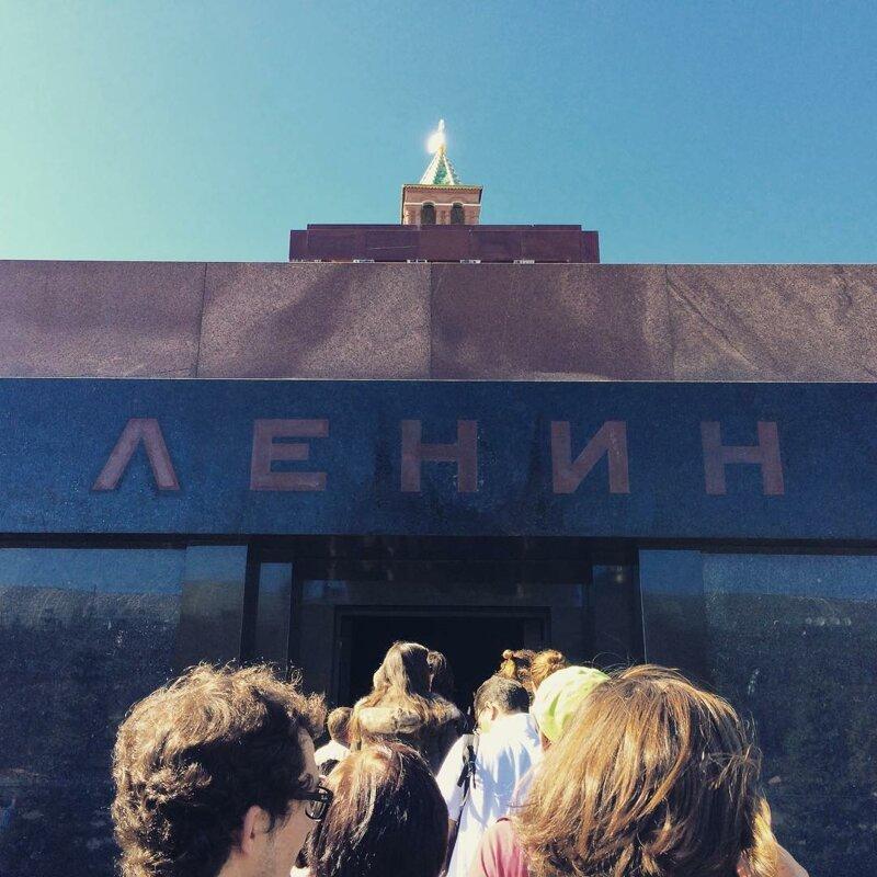 1. Мавзолей Ленина