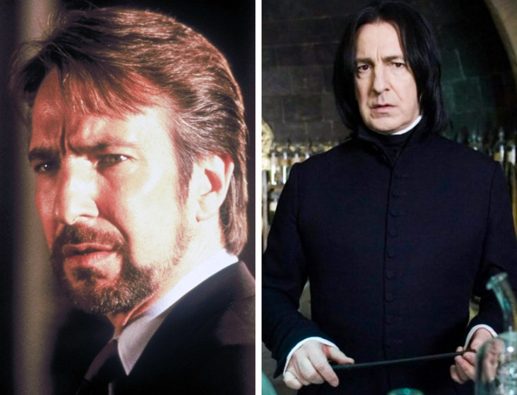 """How 20 """"Harry Potter"""" Actors Looked in Their Youth and in the Films"""